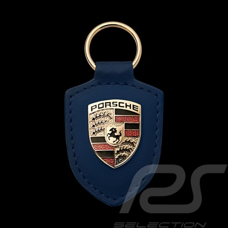 Porte-clés Porsche écusson bleu crest keyring Schlüsselanhänger Porsche WAP0500950E