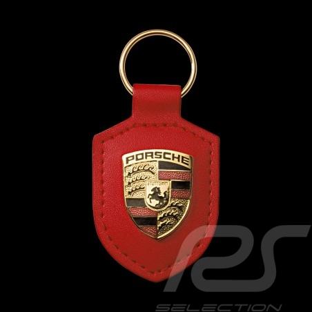 Porte-clés Porsche écusson crest keyring Schlüsselanhänger rouge Porsche WAP0500920E