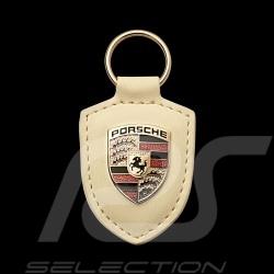 Porsche crest keyring cream white Porsche WAP0500960E