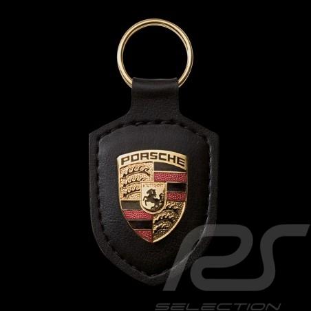 Porte-clés Porsche écusson crest keyring Schlüsselanhänger noir Porsche WAP0500900E