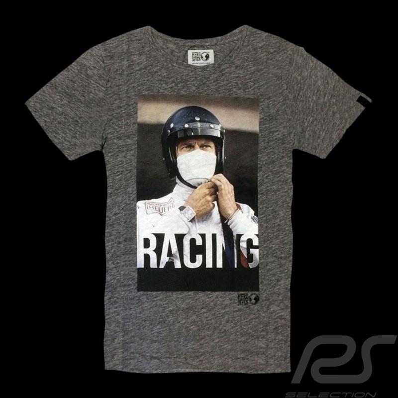 Steve McQueen T-shirt Racing Le Mans Dark grey - Men