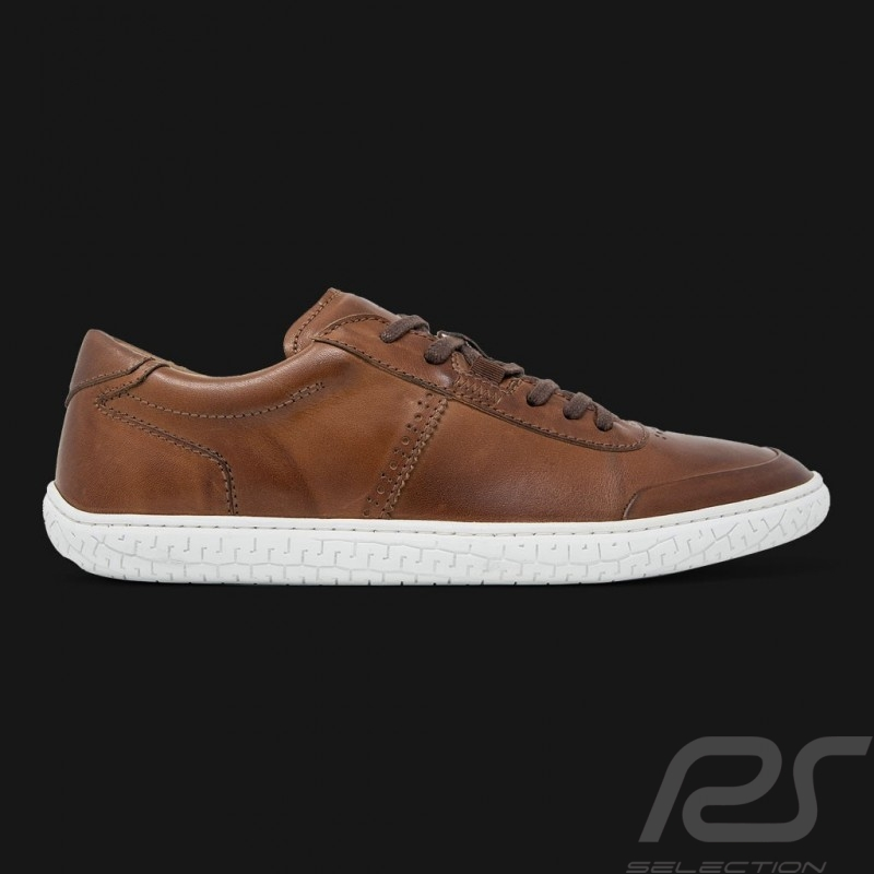 Driving shoes Sport sneaker Brown Leather - men