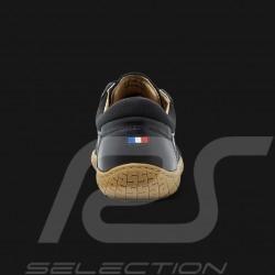 Driving shoes Sport sneaker 24h Le Mans Black Leather - men