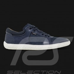 Driving shoes Sport sneaker 24h Le Mans Navy blue Leather - men