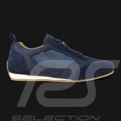 Driving shoes Sport sneaker 24h Le Mans Navy blue Leather / Cotton - men