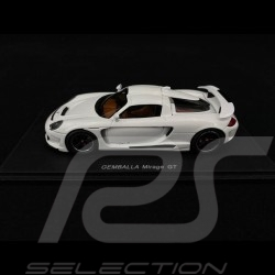 Porsche Gemballa Mirage GT 2007 blanc white weiß 1/43 Spark S0722