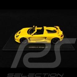 Porsche Gemballa Mirage GT 2007 jaune yellow gelb 1/43 Spark S0720