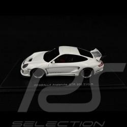 Porsche Gemballa Avalanche GTR 650 EVO 2007 white 1/43 Spark S0719