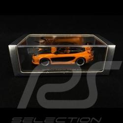 Porsche Gemballa Avalanche GT2 600 EVO 2008 orange and black 1/43 Spark S0718
