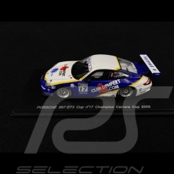 Porsche 911 GT3 Cup type 997 n° 17 Champion Carrera Cup 2009 1/43 Spark MX021