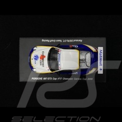 Porsche 911 GT3 Cup type 997 n° 17 Champion Carrera Cup 2009 1/43 Spark MX021