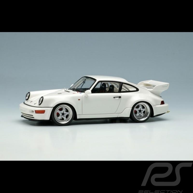 Porsche 911 Carrera RSR 3.8 Type 964 1993 White 1/43 Make Up Vision VM162B