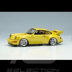 Porsche 911 Carrera RSR 3.8 Type 964 1993 Jaune vitesse 1/43 Make Up Vision VM162C