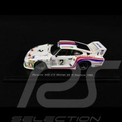 Porsche 935 Liqui Moly n° 2 Vainqueur 24H Daytona 1980 1/43 Spark 43DA80