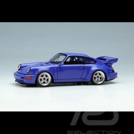 Porsche 911 Carrera RSR 3.8 Type 964 1993 Maritime blue 1/43 Make Up Vision VM162E
