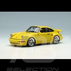 Porsche 911 Turbo S Light Weight Type 964 1992 Jaune vitesse 1/43 Make Up Vision VM159A