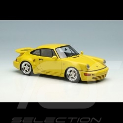 Porsche 911 Turbo S Light Weight Type 964 1992 Speed yellow 1/43 Make Up Vision VM159A