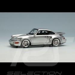 Porsche 911 Turbo S Light Weight Type 964 1992 Silbergrau 1/43 Make Up Vision VM159B