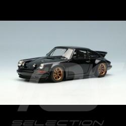 Singer 911 Porsche 964 Wing up Black 1/43 Make Up Vision VM203