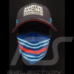 Martini mask Protective and washable Blue / red Size L Protective mask