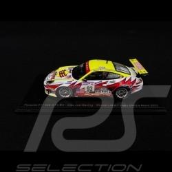 Porsche 911 GT3 RS type 996 n° 93 Vainqueur de classe Class winner Klassensieger Le Mans 2003 1/43 Spark S5527
