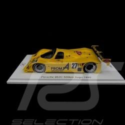 Porsche 962 C n° 27 500km Sugo 1990 1/43 Spark SJ081