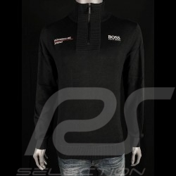 Hugo Boss Knit sweater Porsche Motorsport Cotton Black WA201MMSR - men