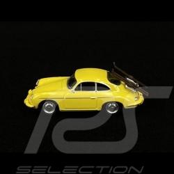 "Porsche 356 Carrera 2 ""Vacances de Ski"" jaune yellow gelb 1/64 Schuco 452022900"