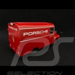 Opel Blitz 1.75t Porsche Renndienst 1952-1960 red 1/18 Schuco 450017900