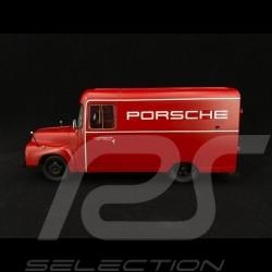 Opel Blitz 1.75t Porsche Renndienst 1952-1960 rouge red rot 1/18 Schuco 450017900