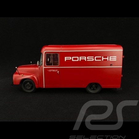 Opel Blitz 1.75t Porsche Renndienst 1952-1960 rot 1/18 Schuco 450017900