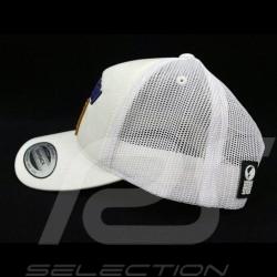 Steve McQueen Hat Snapback White USA flag - homme