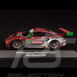 Porsche 911 GT3 R type 991 24h Daytona 2020 n° 9 Pfaff 1/43 Spark MAP02085020