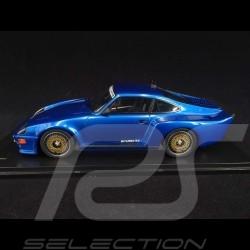 Porsche 911 Biturbo type 930 3.3 Almeras 1993 bleu métallisé blue blau metallic 1/18 KESS KE18005A