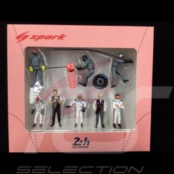 Set figurines diorama Le Mans 2018 Porsche Cochon rose 1/43 Spark 43AC013