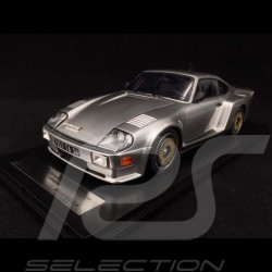 Porsche 911 Biturbo type 930 3.3 Almeras 1993 silver metallic 1/18 KESS KE18005B