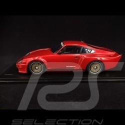Porsche 911 Biturbo type 930 3.3 Almeras 1993 rouge métallisé red rot metallic 1/18 KESS KE18005C
