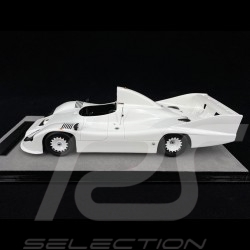 Porsche 936 /77 spyder Présentation presse 1977 Blanc laqué 1/18 Tecnomodel TM18-148A