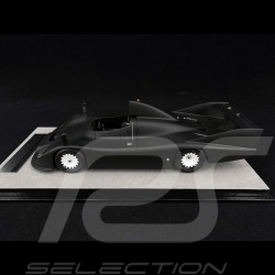 Porsche 936 /77 spyder Le Mans 1977 Test Version Matt Schwarz 1/18 Tecnomodel TM18-148D