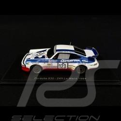 Porsche 930 n° 123 Le Mans 1984 1/43 Spark S4416