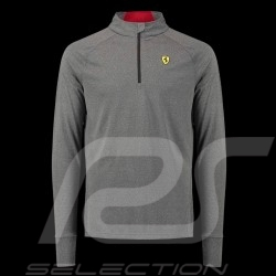 Ferrari sports polo shirt Long sleeves Grey Ferrari Motorsport Collection - men