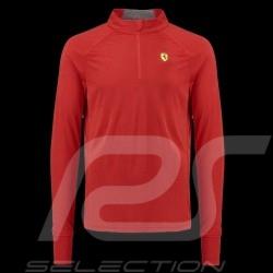 Ferrari Sport Poloshirt Langarm Rot Ferrari Motorsport Collection - Herren