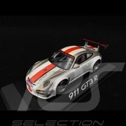 Porsche 911 type 997 GT3 R 2012 white / red 1/43 Minichamps WAP0200190C