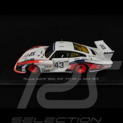"""Porsche 935 """" Moby Dick """" Le Mans 1978 n° 43 1/43 Spark S4162"""