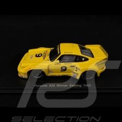 Porsche 934 n° 9 Winner Sebring 1983 1/43 Spark 43SE83