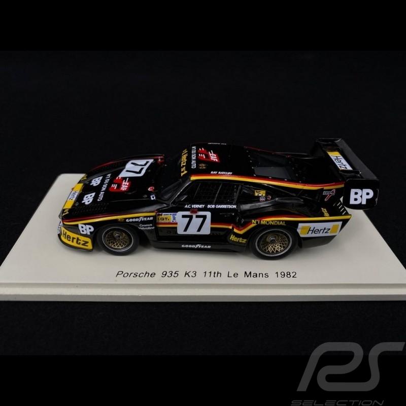 Porsche 935 K3 Le Mans 1982 n° 77 1/43 Spark S4168