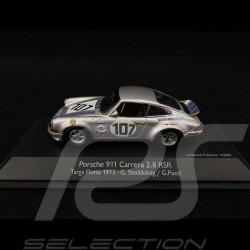 Porsche 911 Carrera 2.8 RSR n° 107 Targa Florio 1973 1/43 Schuco 450371200