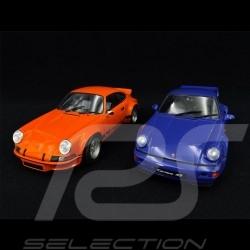 Coffret Porsche 911 Carrera RSR & 964 Carrera RS 1/18 Solido PACK-S180004