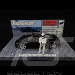 Porsche Carrera GT noire avec pilote 1/43 TopGear 519436260