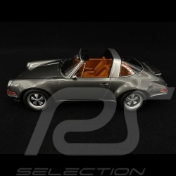Singer Porsche 911 Targa Dark grey 1/18 KK Scale KKDC180471